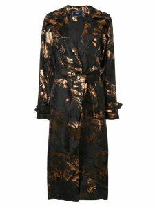 Taller Marmo Hendrix trench coat - Black