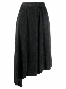 Isabel Marant Freja flowing velvet skirt - Black