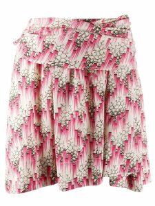 Isabel Marant printed mini skirt - Pink
