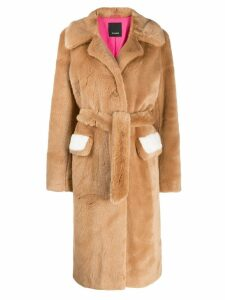 Pinko oversized coat - Neutrals