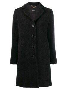 Paltò single breasted coat - Black