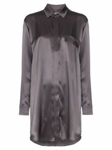 Le Kasha loose shirt dress - Grey
