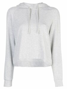 Majestic Filatures cropped hoodie - Grey