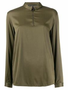 Fabiana Filippi zipped blouse - Green
