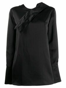Marni spread collar blouse - Black