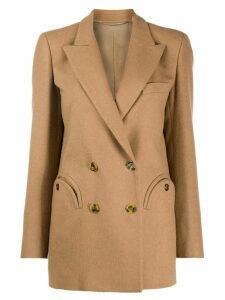 Blazé Milano classic double-breasted blazer - NEUTRALS