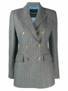 Ermanno Scervino pinstripe blazer - Grey