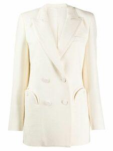 Blazé Milano classic double-breasted blazer - White
