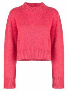 Co cashmere wide sleeve jumper - Pink