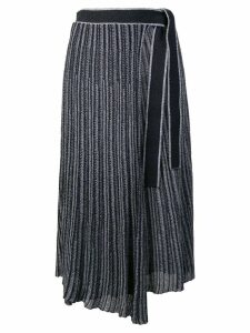 Victoria Victoria Beckham pleated skirt - Blue