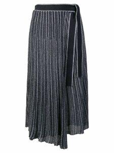 Victoria Victoria Beckham pleated skirt - Blue