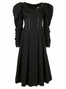 Rejina Pyo Carla puff-shoulder dress - Black