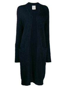 Semicouture oversized knitted cardigan - Blue