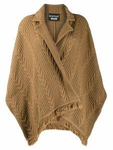 Boutique Moschino dolman sleeve cardigan - Neutrals