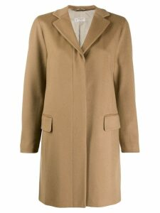 Alberto Biani concealed front coat - Neutrals