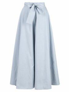 Co bow tie waist skirt - Blue