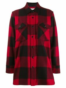 Woolrich checked pattern shirt - Black
