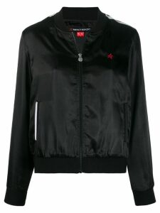 Perfect Moment satin bomber jacket - Black