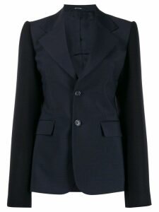 Maison Margiela structured classic blazer - Blue