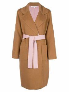 Veronica Beard oversized wrap jacket - Neutrals
