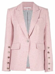 Veronica Beard knitted blazer - PINK