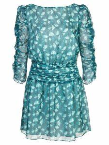 Rachel Zoe v-neck mini dress - Blue