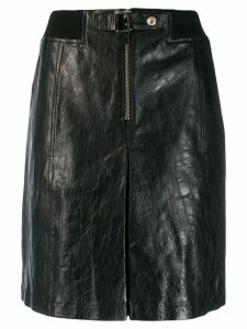 A.P.C. high waisted skirt - Black