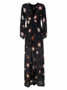 Isolda Ametista long dress - Black