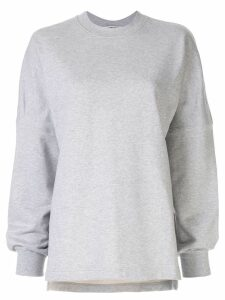 T By Alexander Wang Dry French Terry sweatshirt - Grey