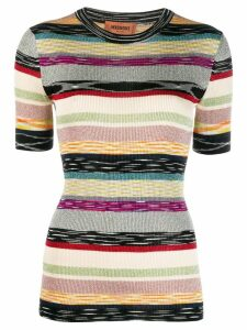 Missoni stripe print T-shirt - Neutrals