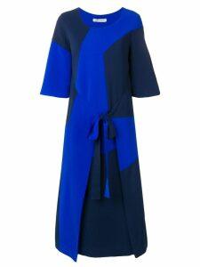 Henrik Vibskov tonal block dress - Blue