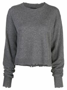 RtA crew neck sweatshirt - Grey
