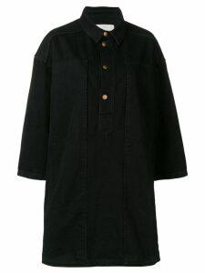 Henrik Vibskov denim shirt dress - Black