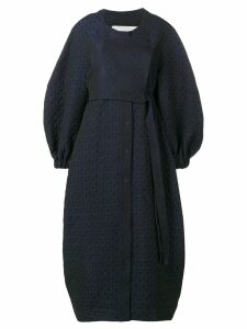 Henrik Vibskov padded print dress - Blue