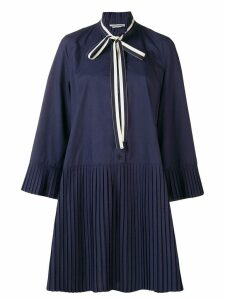 Henrik Vibskov plisse shirt dress - Blue