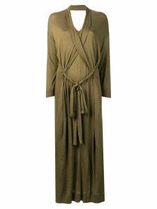 Henrik Vibskov Collect jersey dress - Green