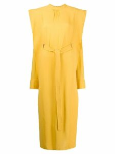 Stella McCartney shoulder panel dress - Yellow