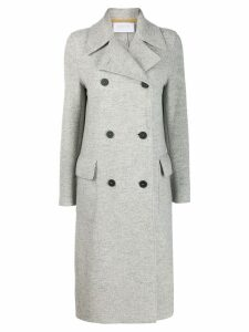 Harris Wharf London classic double-breasted coat - Grey