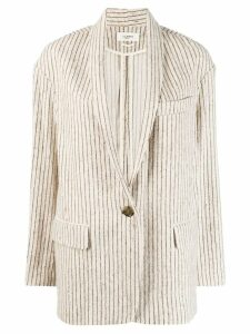 Isabel Marant Étoile striped blazer - Neutrals