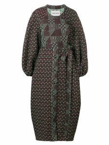 Henrik Vibskov textured wrap dress