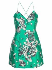 Alice+Olivia floral sweetheart dress - Green