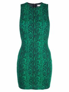 Alice+Olivia snake print dress - Green