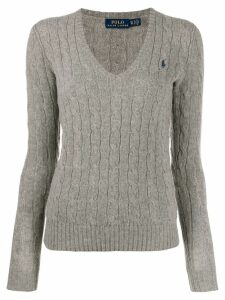 Polo Ralph Lauren classic knitted jumper - Grey