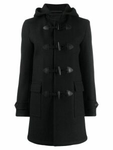 Saint Laurent trenca duffle coat - Black