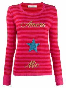 5 Progress Amore Mio striped jumper - Red