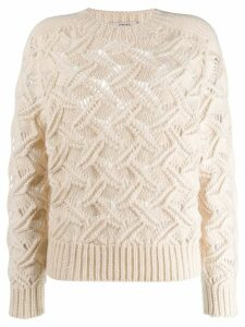 Dorothee Schumacher knitted fitted sweater - White