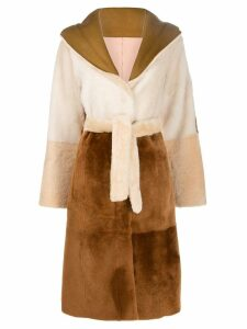 Drome tie waist coat - Neutrals