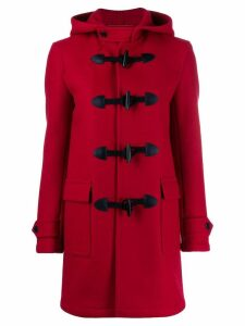 Saint Laurent trenca duffle coat - Red