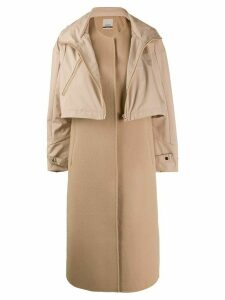 Pinko two-piece coat - Neutrals