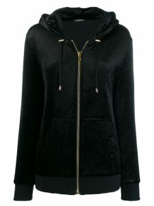 Balmain zipped hoodie - Black
